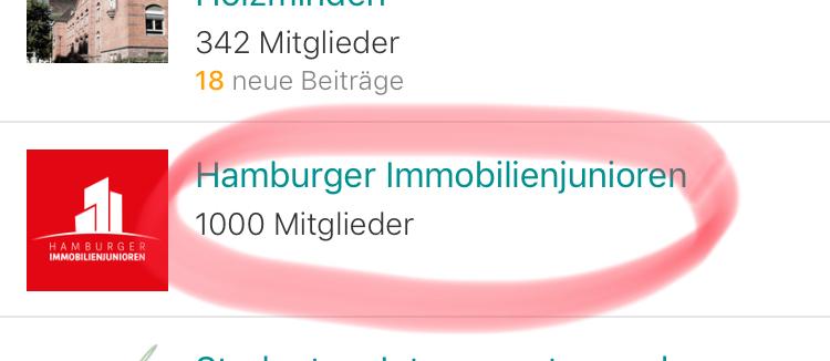1.000 Hamburger Immobilienjunioren – Die beste Community der Welt