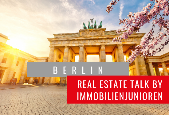 Real Estate Talk Berlin by Immobilienjunioren @Zoom