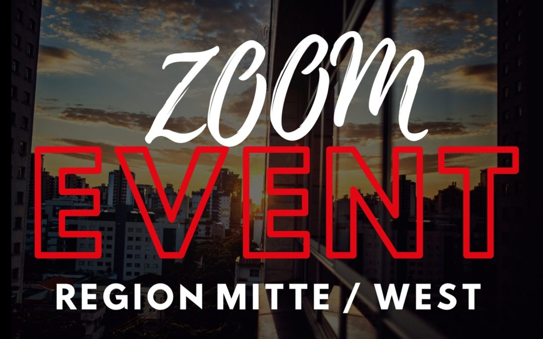5. August – Real Estate Talk Region West / Mitte @Zoom